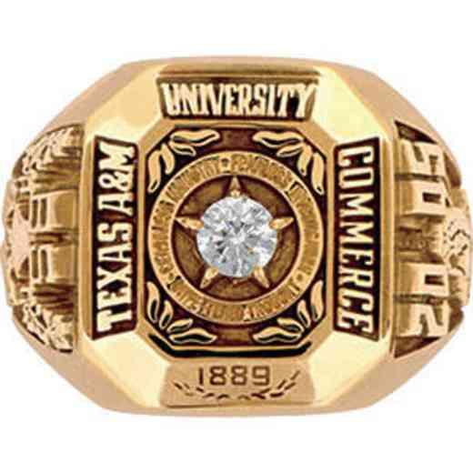 Texas A&M University Commerce Men's Large Ring