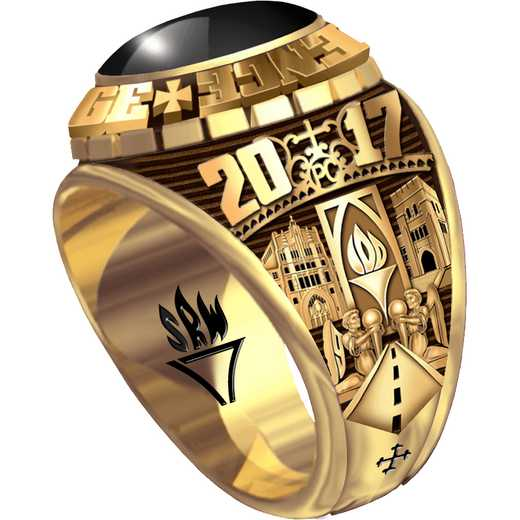 Providence College Class of 2017 Men's Traditional Medium Ring