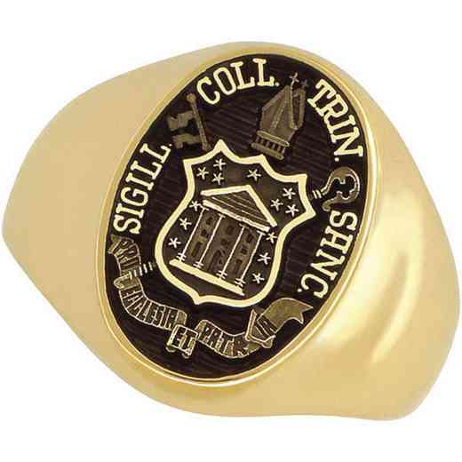 Trinity College Hartford Men's Large Signet Ring