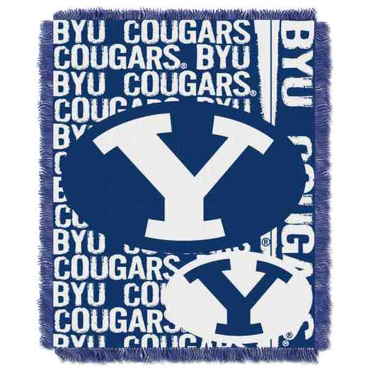 1COL019030004RET: NW COL DP Tapestry Throw, BYU
