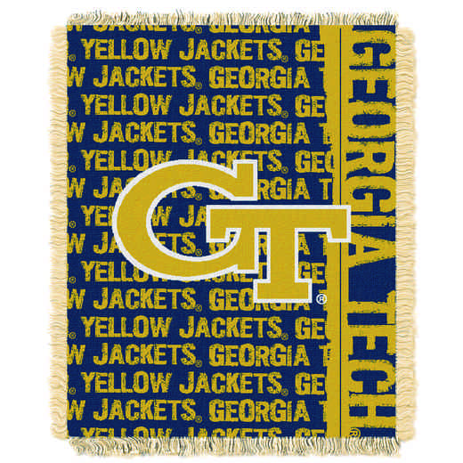 1COL019030078RET: NW COL DP Tapestry Throw, Georgia Tech