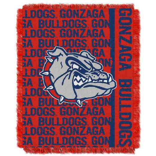 1COL019030120RET: NW COL DP Tapestry Throw, Gonzaga