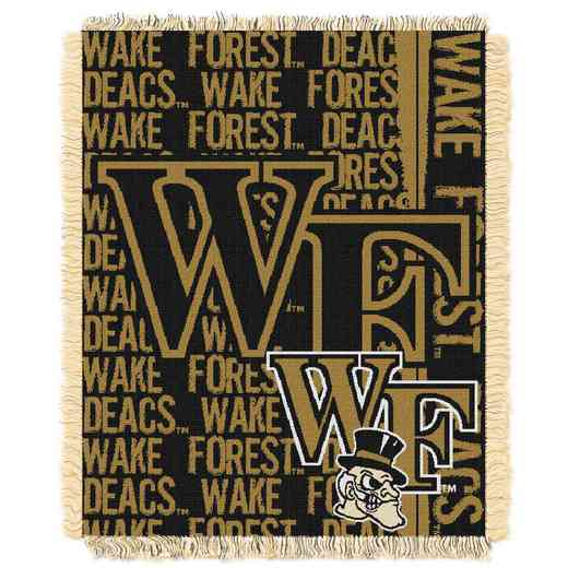1COL019030095RET: NW COL DP Tapestry Throw, Wake Forest