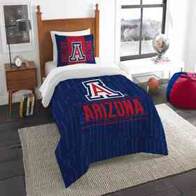1COL862000051RET: NW NCAA F/Q Comforter Set, Arizona