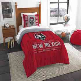 1COL862000058RET: NW NCAA F/Q Comforter Set, New Mexico