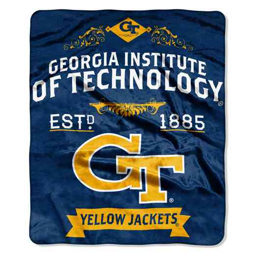 1COL070400078RET: NW NCAA Label Raschel, Georgia Tech