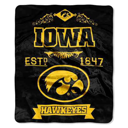 1COL070400002RET: NW NCAA Label Raschel, Iowa