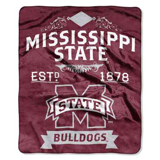 1COL070400056RET: NW NCAA Label Raschel, Mississippi St