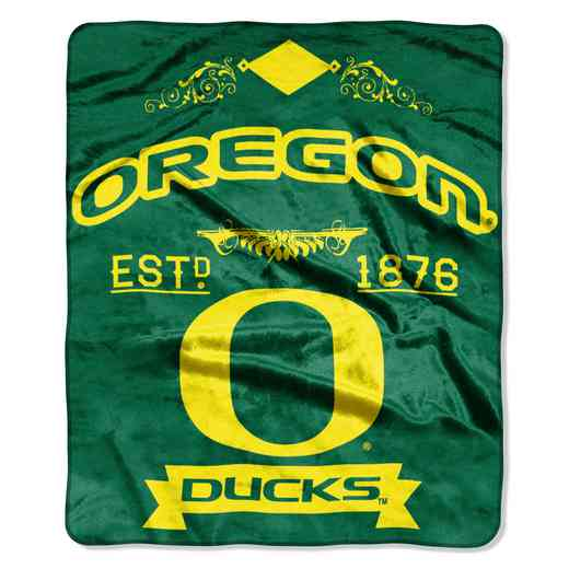 1COL070400081RET: NW NCAA Label Raschel, Oregon