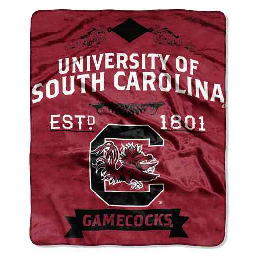 1COL070400042RET: NW NCAA Label Raschel, South Carolina
