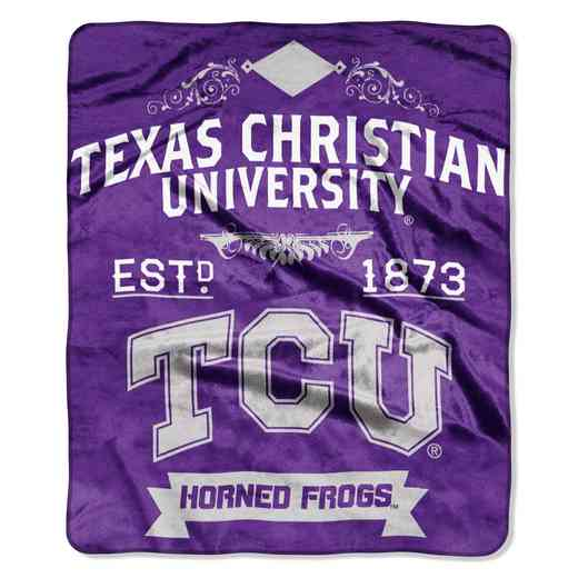 1COL070400089RET: NW NCAA Label Raschel, Texas Christian
