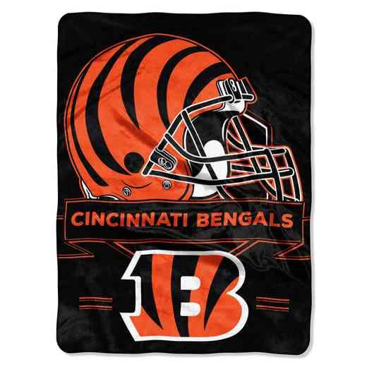 1NFL080710002RET: NW NFL Prestige Raschel Throw, Bengals