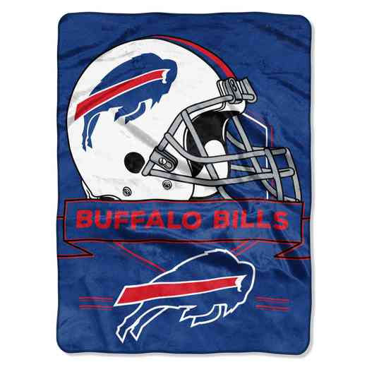 1NFL080710003RET: NW NFL Prestige Raschel Throw, Bills