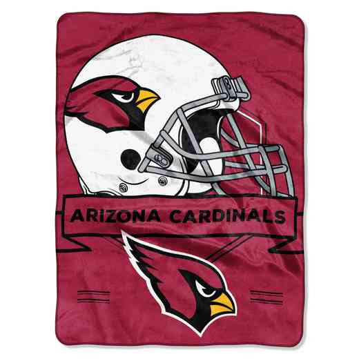 1NFL080710080RET: NW NFL Prestige Raschel Throw, Cardinals