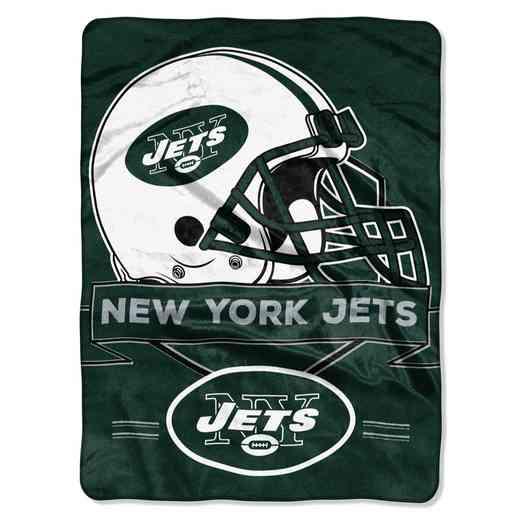 1NFL080710015RET: NW NFL Prestige Raschel Throw, Jets