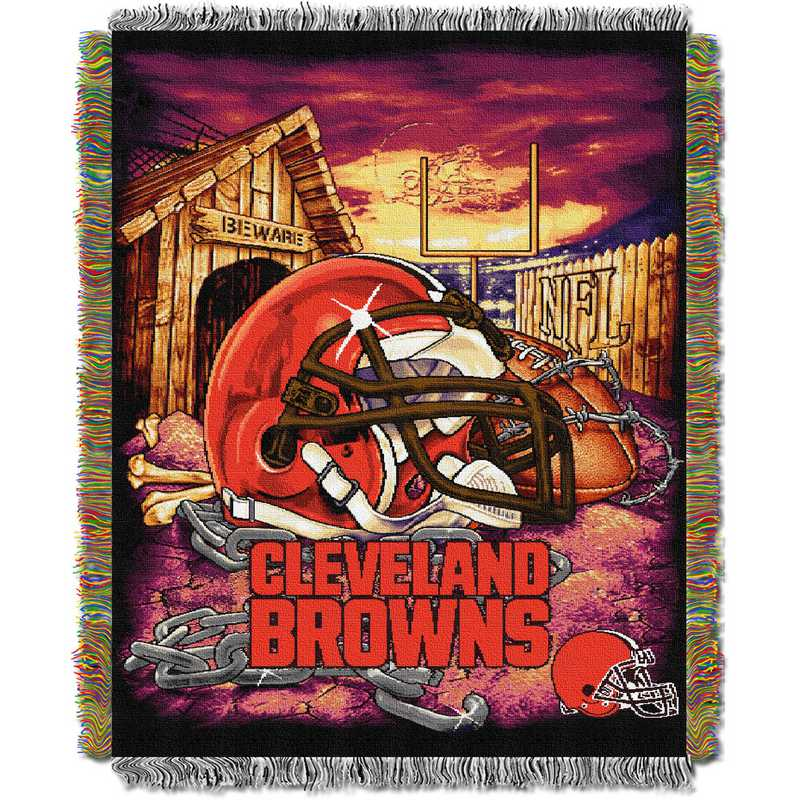 Cleveland Browns Home Team Pride Tapestry Throw Blanket Delectable Team Throw Blankets