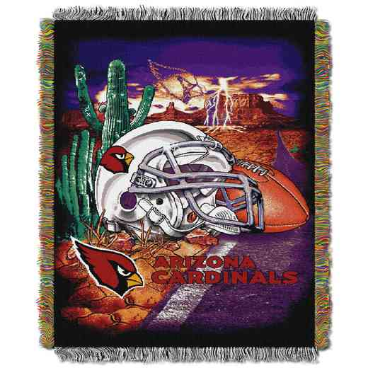 1NFL051010080RET: NW NFL HFA Tapestry Throw, Cardinals