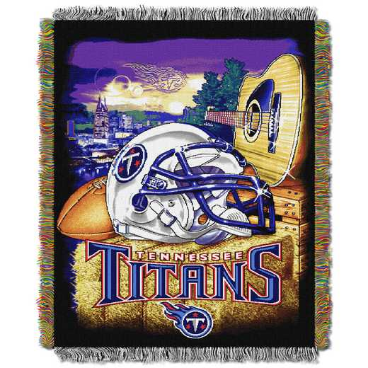 1NFL051010016RET: NW NFL HFA Tapestry Throw, Titans