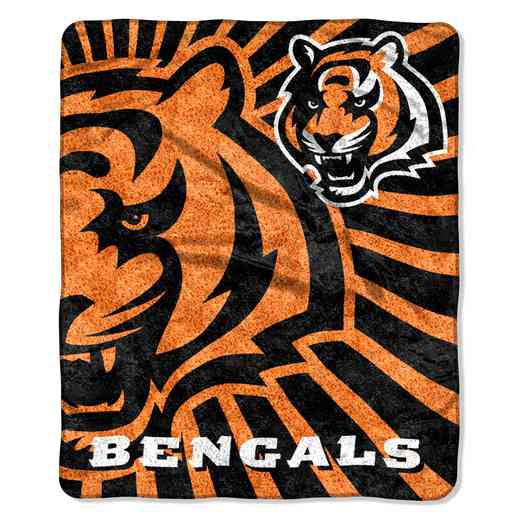 1NFL065010002RET: NW NFL Sherpa Strobe Throw, Bengals
