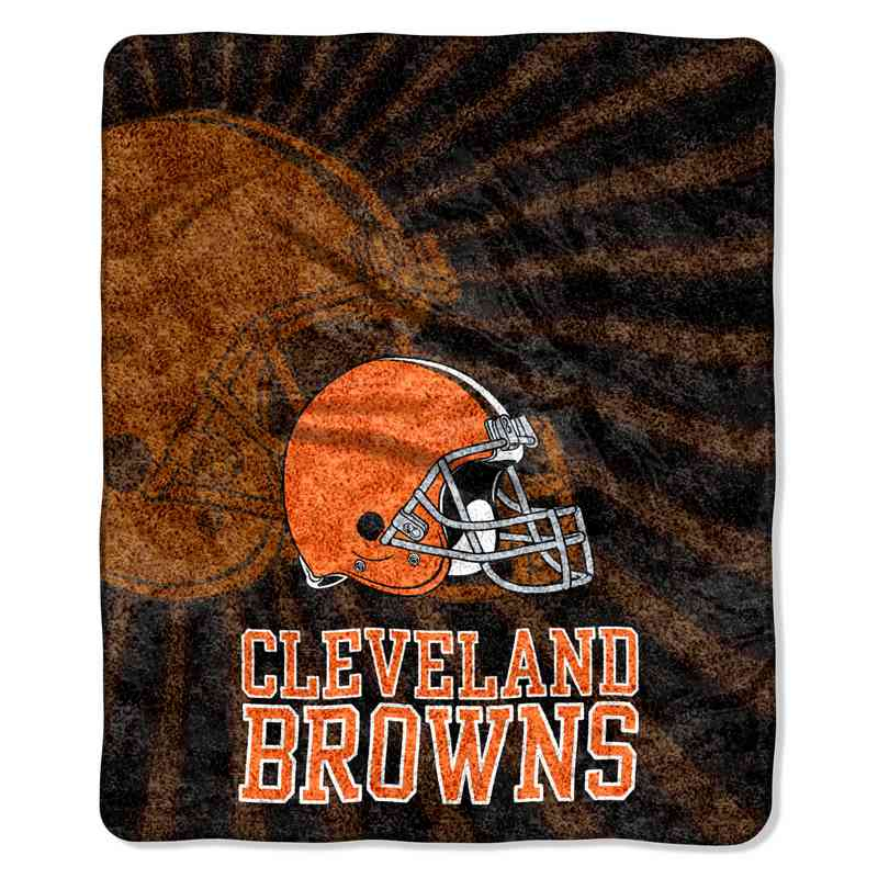 1NFL065010005RET: NW NFL Sherpa Strobe Throw, Browns