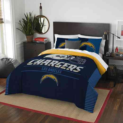 1NFL849001079RET: NW NFL  Anthem F/Q Comf Set, Chargers