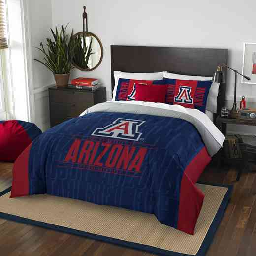1COL849000051RET: NW NCAA F/Q Comforter Set, Arizona