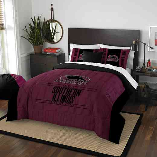 1COL849000121RET: NW NCAA F/Q Comforter Set, So Illionois
