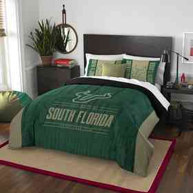 1COL849000108RET: NW NCAA F/Q Comforter Set, South Florida