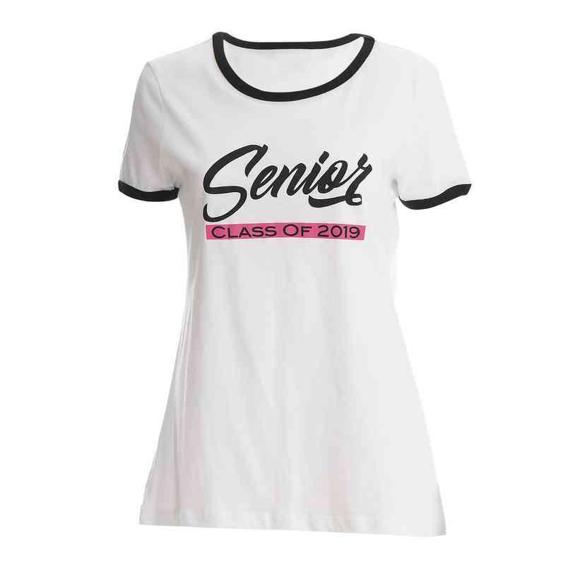 e53d6fbb9 Women's Senior Class of 2019 Scoop Neck T-Shirt