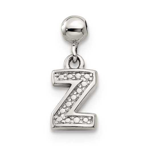 QMM190Z: 925 Mio Memento Dangle Letter Z Charm