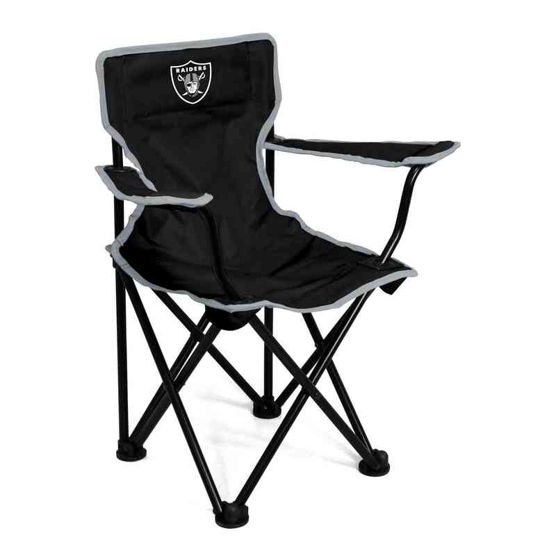 Toddlersu0027 Oakland Raiders Outdoor Folding Chair