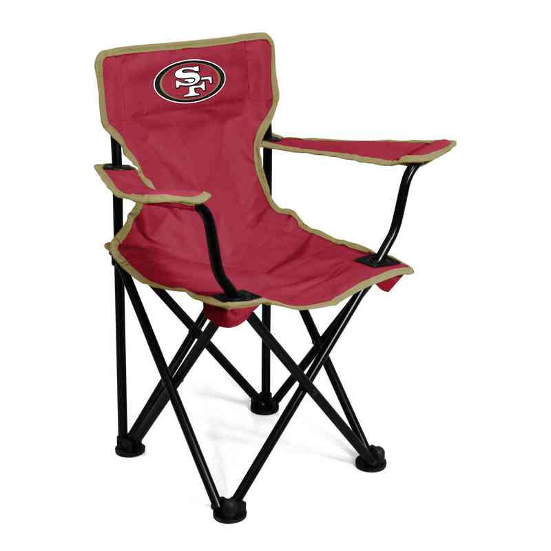 Toddlers San Francisco 49ers Outdoor Folding Chair