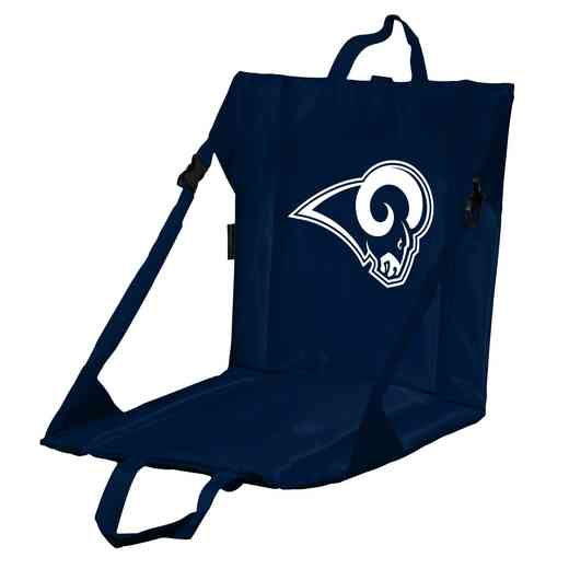 629-80-1: LA Rams Navy/White Stadium Seat