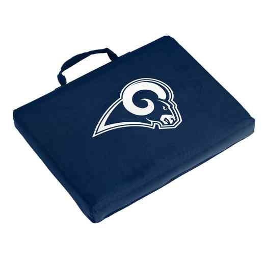 629-71B-1: LA Rams Navy/White Bleacher Cushion