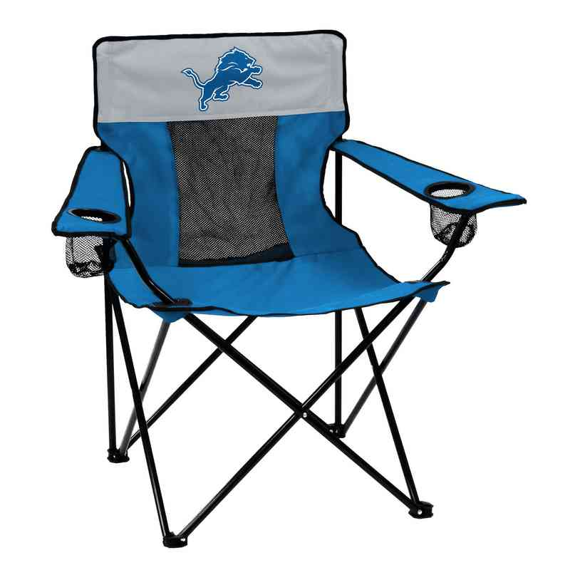 611-12E-1: Detroit Lions 2017 Logo Elite Chair