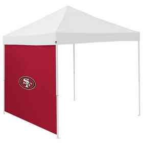 627-48: San Francisco 49ers 9x9 Side Panel