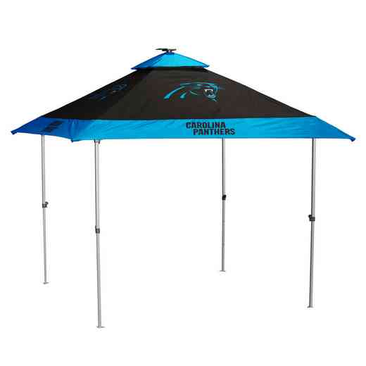 605-37P: Carolina Panthers Pagoda Canopy