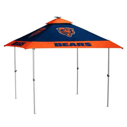 606-37P: Chicago Bears Pagoda Canopy