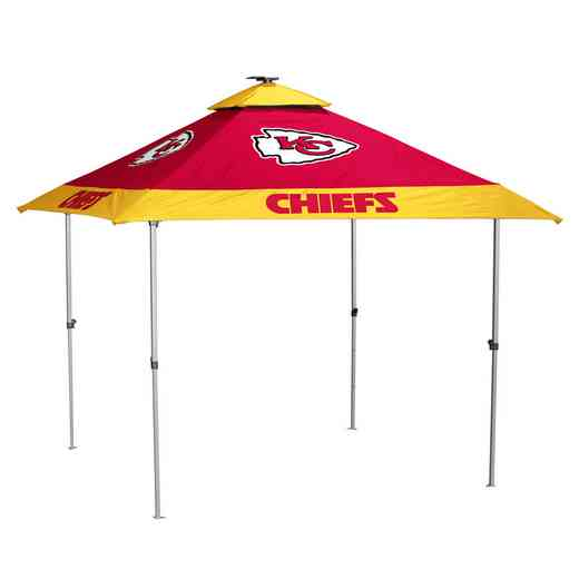 616-37P: Kansas City Chiefs Pagoda Canopy