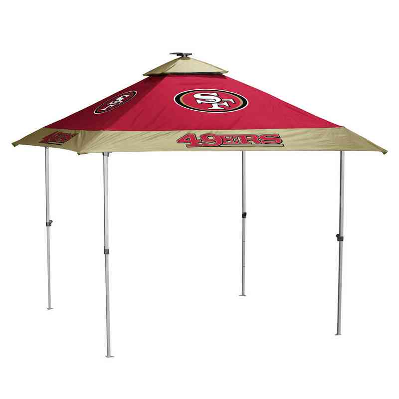 San Francisco 49ers Pro Tailgate Canopy Tent With Led Lights