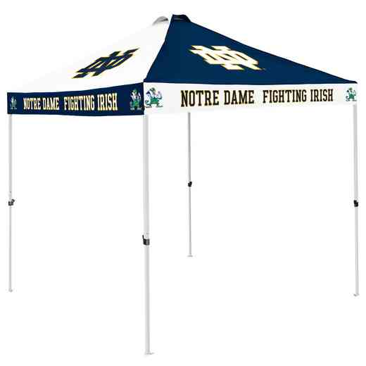 190-42C-1: Notre Dame Navy/White CB Canopy