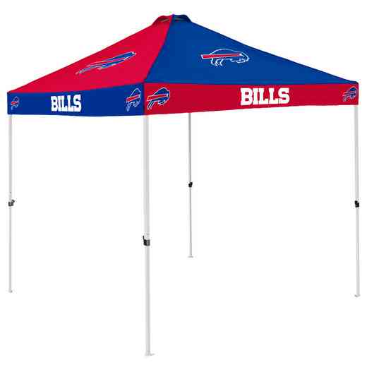 604-42C: Buffalo Bills Checkerboard Canopy