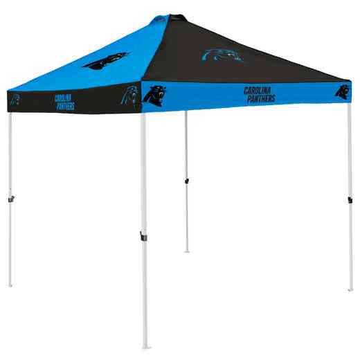 605-42C: Carolina Panthers Checkerboard Canopy