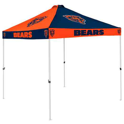 606-42C: Chicago Bears Checkerboard Canopy