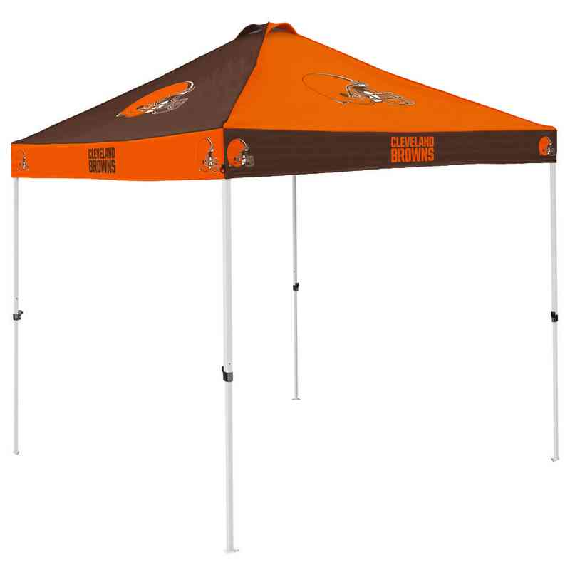 608-42C: Cleveland Browns Checkerboard Canopy