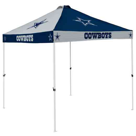 609-42C: Dallas Cowboys Checkerboard Canopy