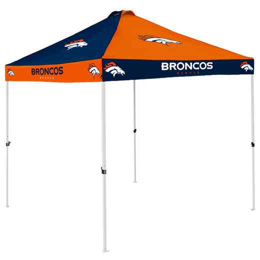610-42C: Denver Broncos Checkerboard Canopy