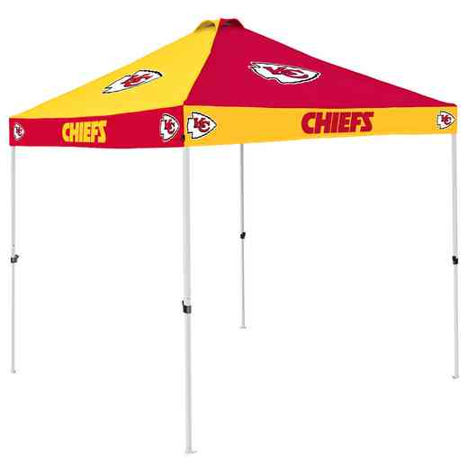 616-42C: Kansas City Chiefs Checkerboard Canopy