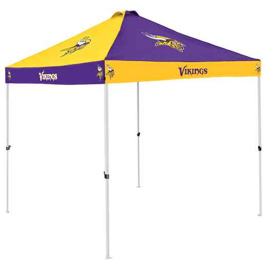 618-42C: Minnesota Vikings Checkerboard Canopy
