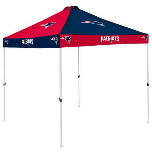 619-42C: New England Patriots Checkerboard Canopy